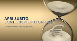Apri conto deposito on line